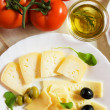 Italian cheese — Stock Photo