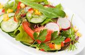 Vynikající jarní salát — Stock fotografie