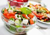 Delicious cheese salad — Foto de Stock