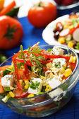 Cheese salad — Stock Photo