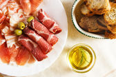 Cured pork meat — Stock Photo