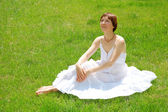Summer woman — Stock Photo