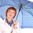 Girl with umbrella — Stock Photo #3331074