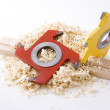 Stock Photo: Woodworking tool