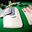 Royalty-Free Stock Photo: Poker gear fisheye look