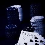 Poker gear — Stock Photo