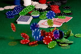 Equipo de Poker - movimiento — Foto de Stock