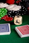 секс покер — Стоковое фото