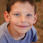 Smiling boy — Stock Photo