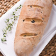 Stock Photo: Olive bread