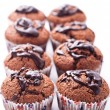 Royalty-Free Stock Photo: Double chocolate muffins