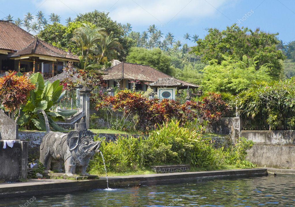 巴厘岛,印度尼西亚,帝国泳池浴场