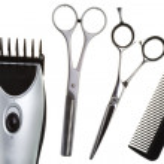 Scissors, scissors tapering, machine for — Stock Photo