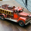 Old toy- Fire Engine — Stockfoto