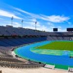 Barcelona. Olympiastadion — Stockfoto