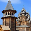 Royalty-Free Stock Photo: Wooden orthodox church in name of Cover All-holy mother of God