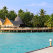 Island in ocean, Maldives. — Stock Photo #3668564