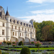 Stock Photo: Chateau de Chenonceau.castle of valley of river Loire. France.