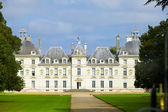 Chateau de Cheverny.castle of a valley of the river Loire. — Stock Photo