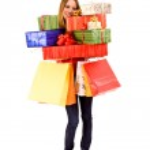 Shopping girl — Stock Photo #3324294