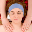 Beauty spa treatment - Stock Photo