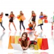 Shopping woman — Stock Photo #3912153