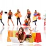 Shopping woman — Stock Photo #3912153