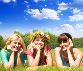 Przyjaciele szczęścia — Zdjęcie stockowe