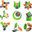 Royalty-Free Stock Vector Image: Abstract icons