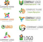 Logos — Stock Vector