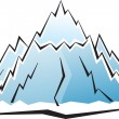 Royalty-Free Stock Vector Image: Mountain icon
