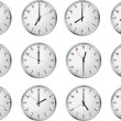 Set of clock — Stock Vector #2920673