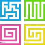Small vector mazes — Stock Vector #2987202