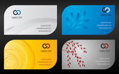 Business cards templates — Stockvektor