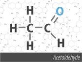 Ensemble de formules orgnick chemistri — Vecteur