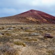 Volcano in Lanzarote — Stock Photo