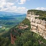 Cliffs in Tavertet — Stock Photo