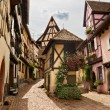 Royalty-Free Stock Photo: Timbered houses in the village of Eguisheim in Alsace, France