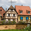 Timbered houses in the village of Eguisheim in Alsace, France — Stock Photo #3772723