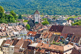 View of the city of Freiburg in the Black Forest, Germany — Stock Photo