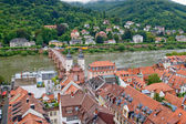 View of Heidelberg city, Germany — Stock Photo
