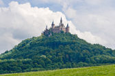 Hohenzollern castle in the Black Forest, Germany — Stock Photo