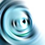 Blue twirl background — Stock Photo #2898807