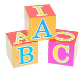 Alphabet block — Stock Photo
