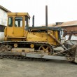 Stock Photo: Bulldozer T-130