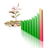 緑の経済の開発 — ストック写真