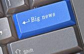 Hot keys for big news — Stock Photo
