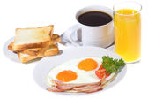 Freshly breakfast — Stock Photo