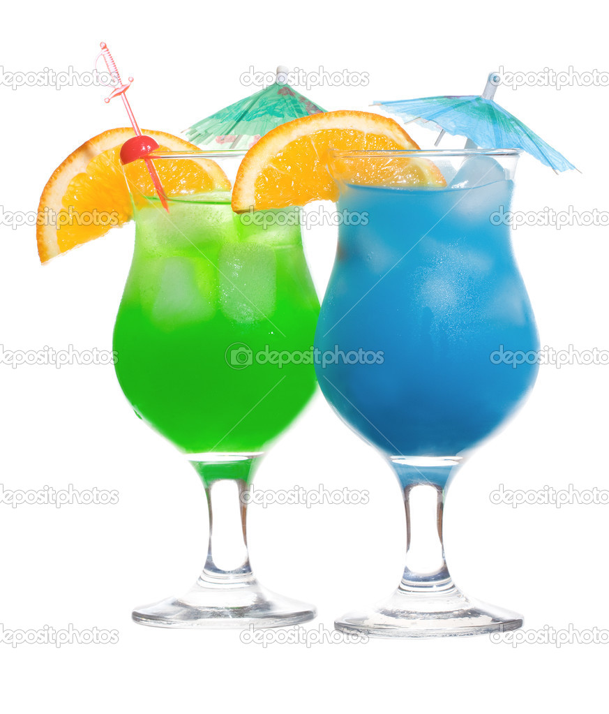 Blue Green Alcoholic Drinks