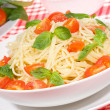 Pasta with vegetables — Zdjęcie stockowe